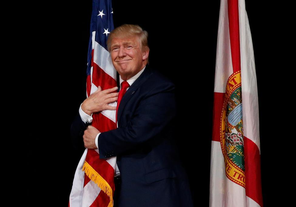 2. Новоизбранный президент США Дональд Трамп занял второе место.