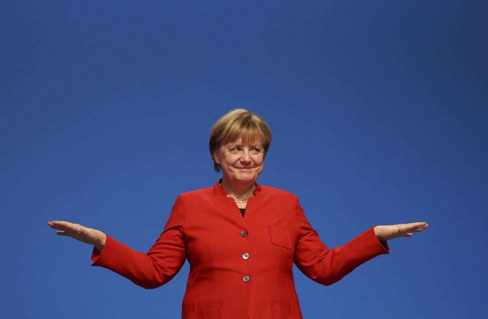 3. Канцлер Германии Ангела Меркель занимает третье место.