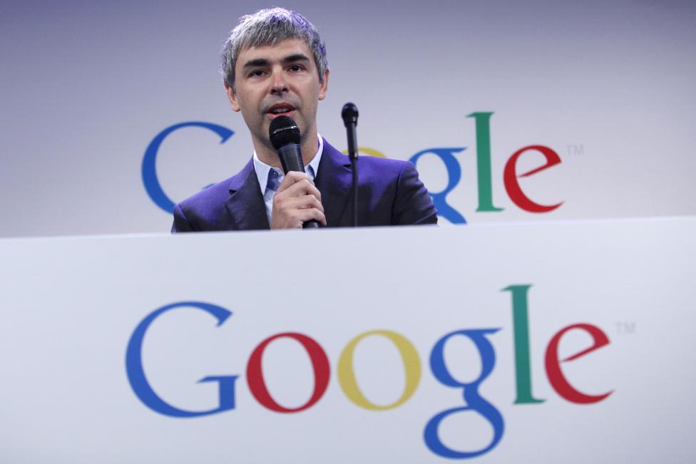 8. Генеральный директор Google Ларри Пейдж.