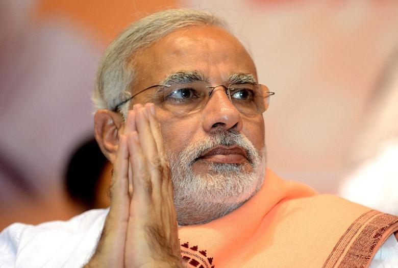 9. Премьер-министр Индии Нарендра Моди.