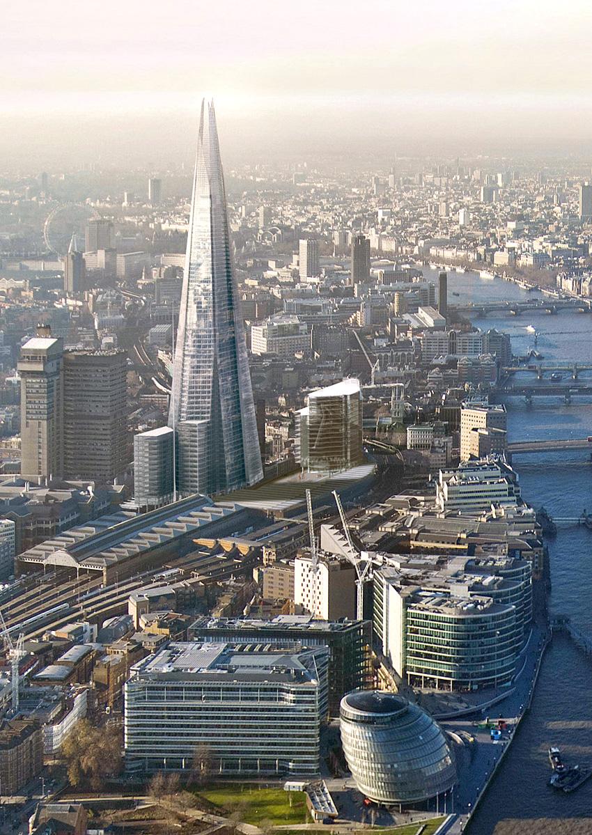 11. Самый высокий небоскреб в Лондоне.