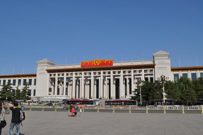 12. Самый большой музей: Национальный музей Китая, Пекин.