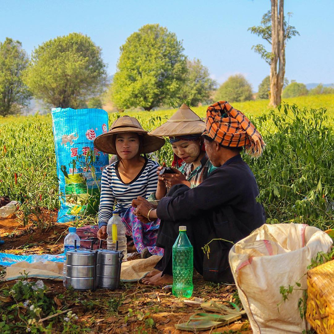 10. Мьянма, перерыв на обед. @kishanth.