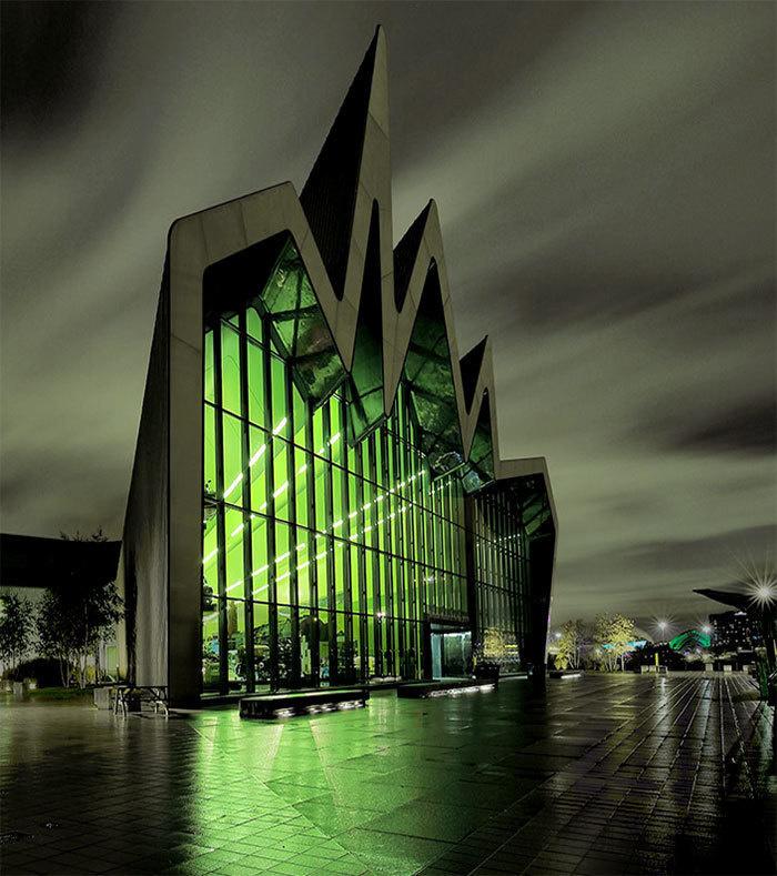 3. Музей Риверсайд, Глазго, Великобритания.