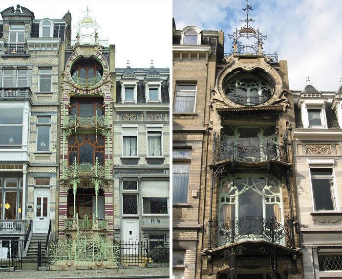 6. Maison St Cyr, Брюссель, Бельгия.