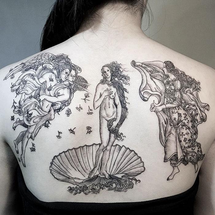 11. «Рождение Венеры», Сандро Боттичелли.