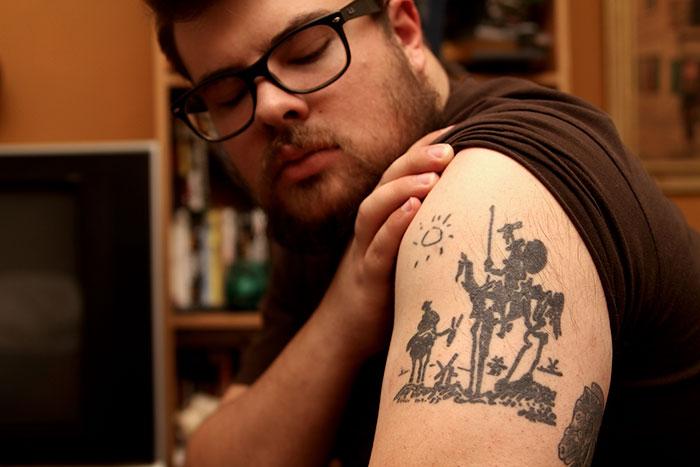 12. «Дон Кихот», Пабло Пикассо.
