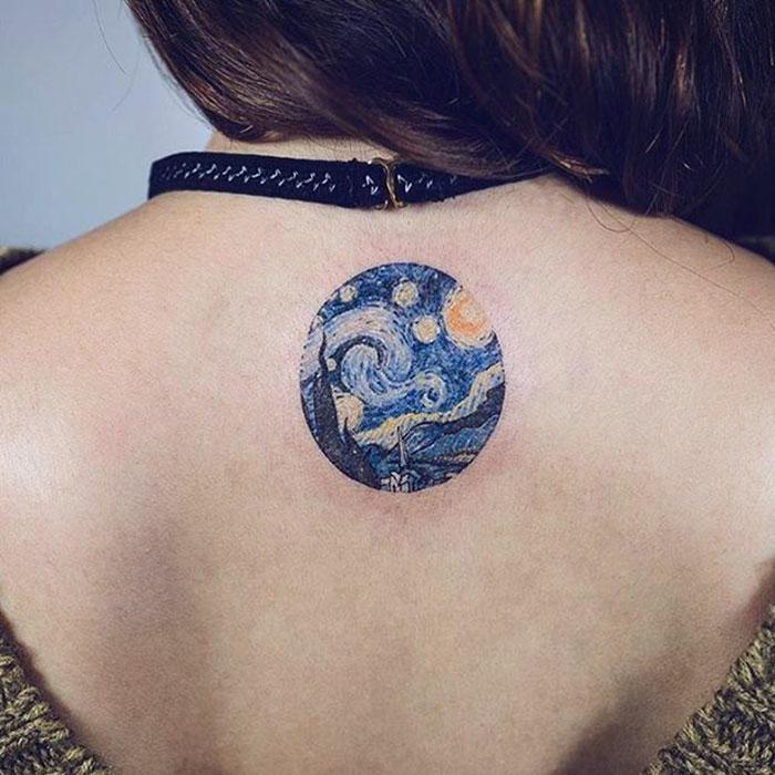 6. «Звездная ночь», Ван Гог.