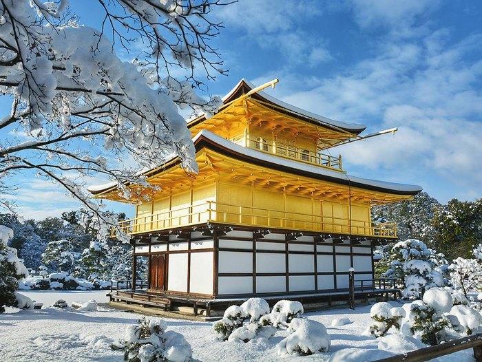 5. Золотой храм Киото.