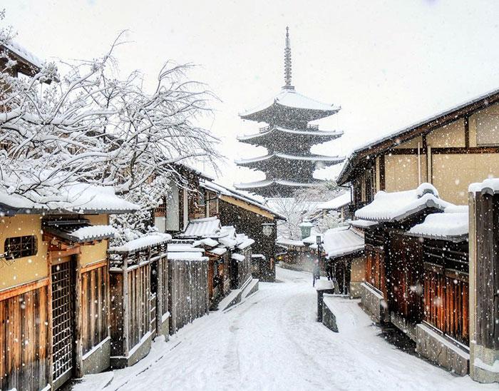 8. Храм Ясака.