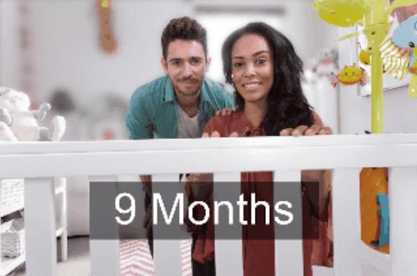 10. 9 месяцев.