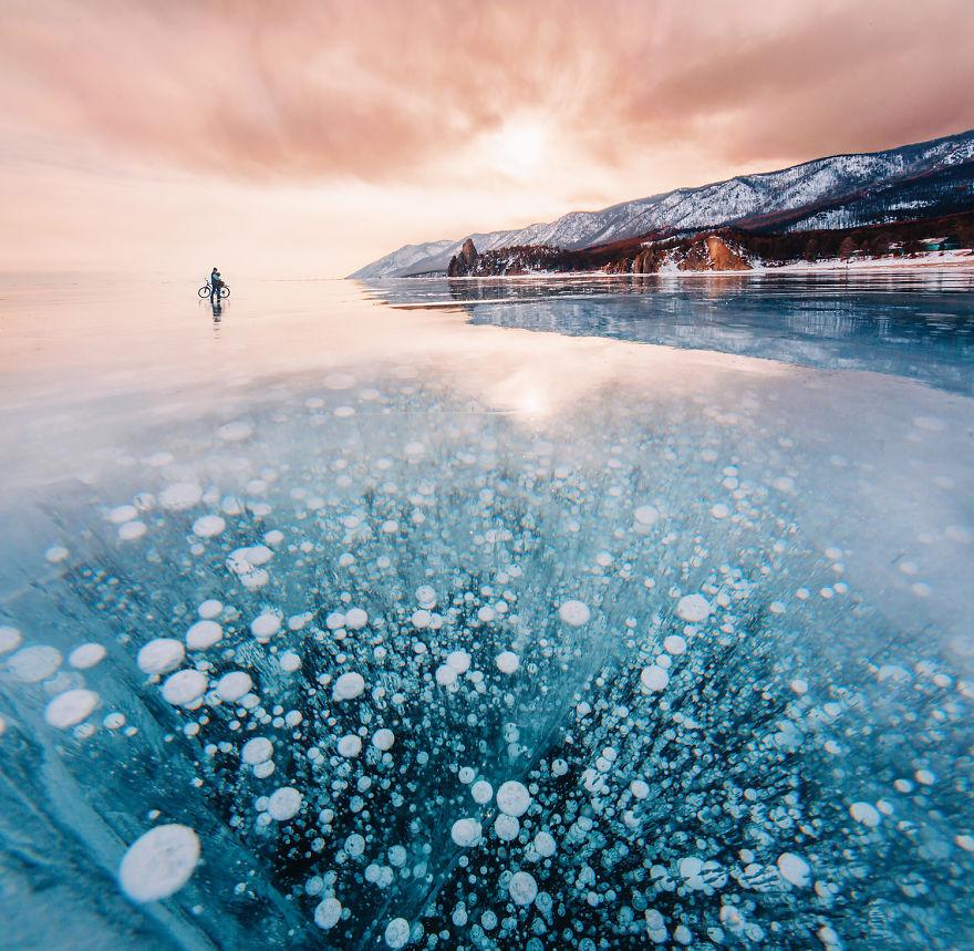 3. «Когда мы планировали поездку, мы даже не подозревали, насколько озеро замечательное, величественное и сказочное».