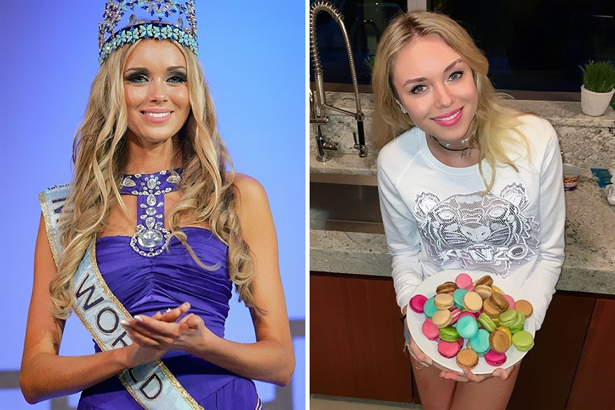 10. Ксения Сухинова (Россия), Мисс Мира 2008.