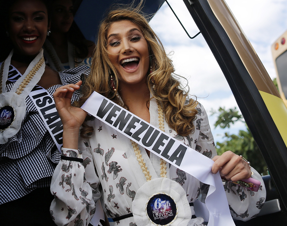 2. Мариам Хэбэч из Венесуэлы.