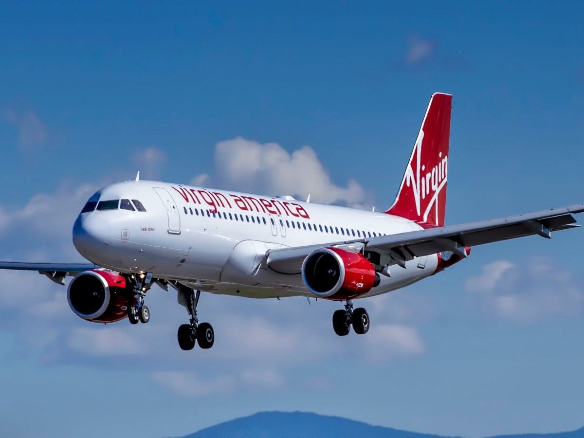 10. Virgin America: Alaska Airlines – авиакомпания купленная Virgin America.