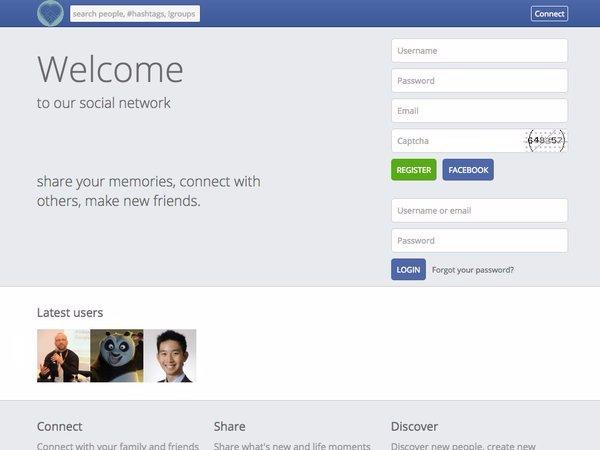 2. Северная Корея запретила Facebook, но создала его клон.