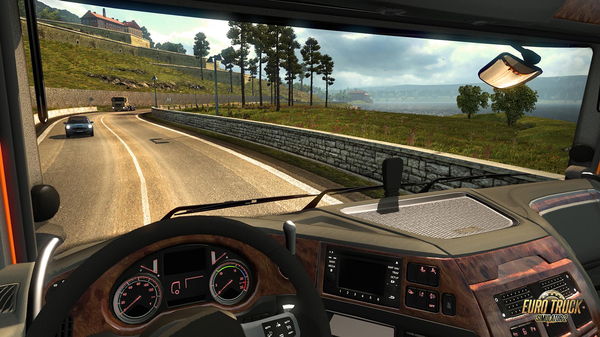11. Номинация - «Устройтесь поудобнее» - Euro Truck Simulator 2.