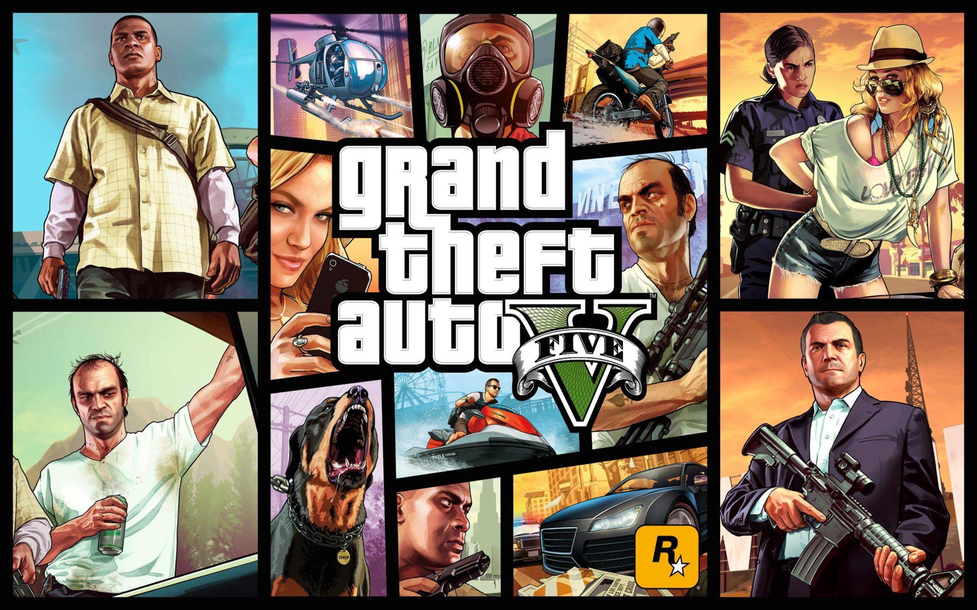 5. Номинация «НИФИГАСЕБЕ!» - Grand Theft Auto V.