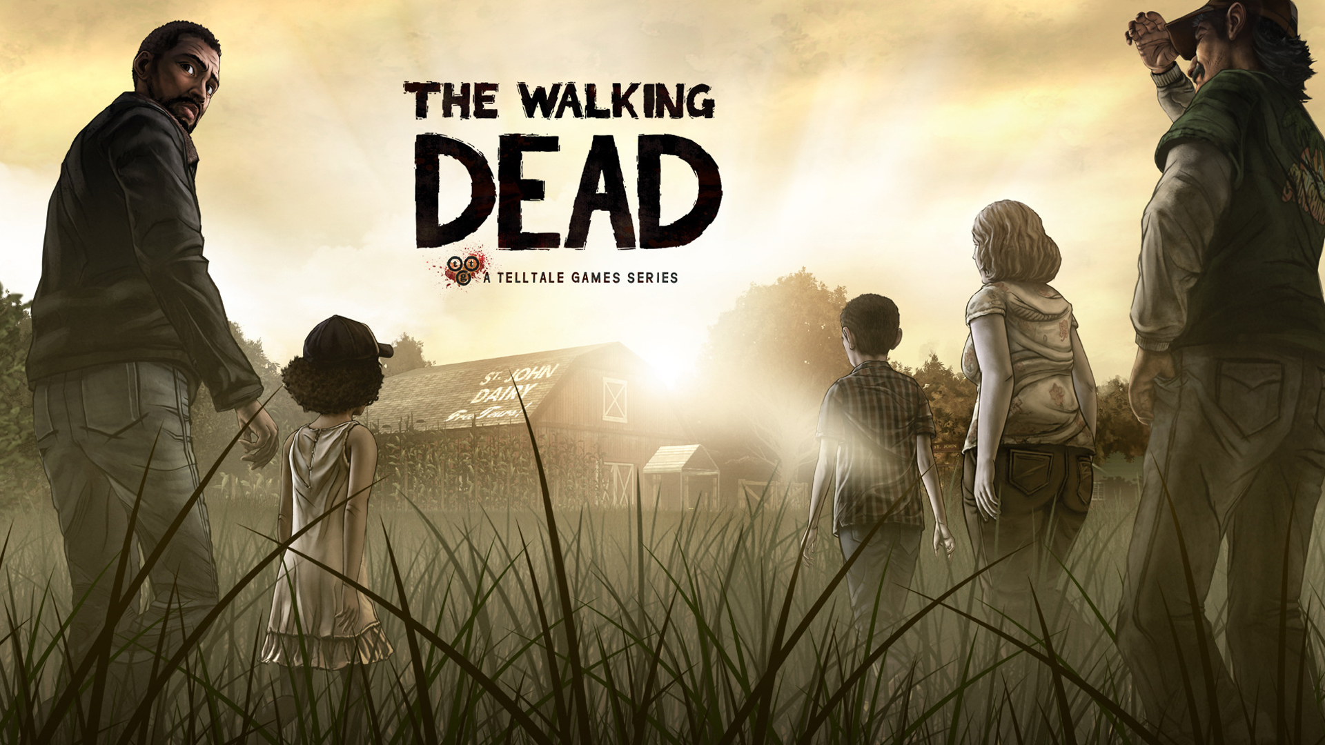 7. Номинация «Я не плачу, просто что-то в глаз попало» - The Walking Dead.