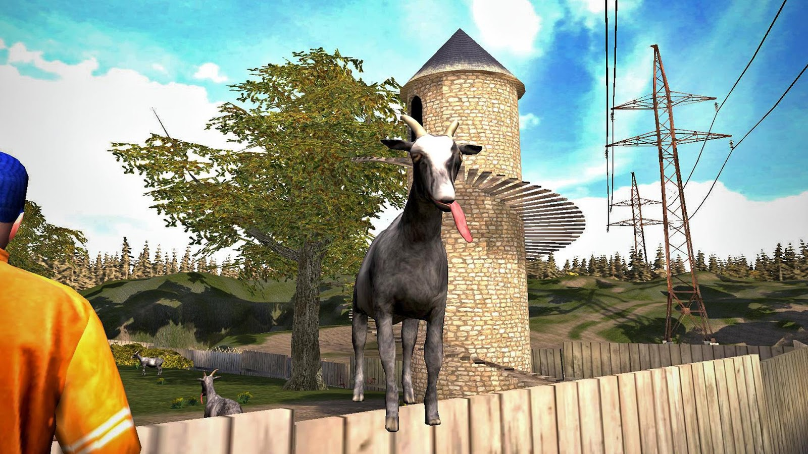 8. Премия «Лучшее применение сельской живности» - Goat Simulator.