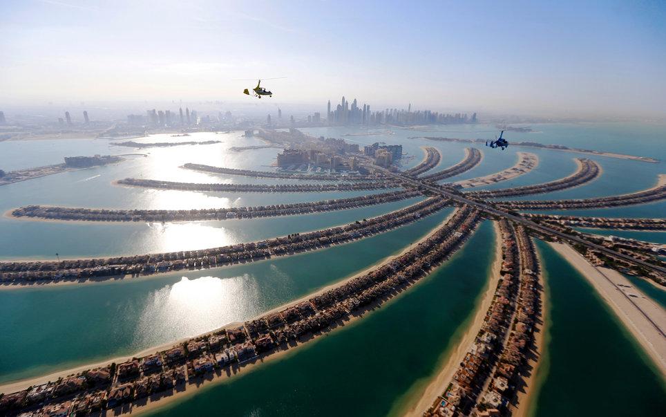 6. Гирокоптеры над Дубаем.