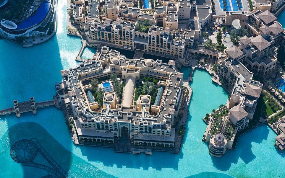 8. Отель Палас Даунтаун Дубай.