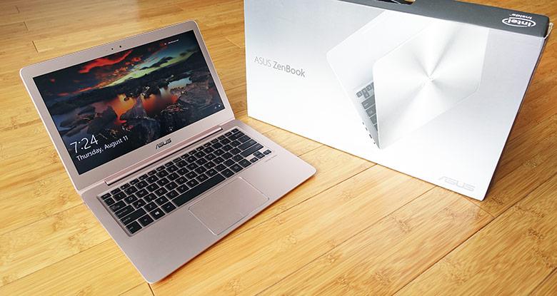 1. Asus Zenbook UX330UA (от 64 тыс. руб.).