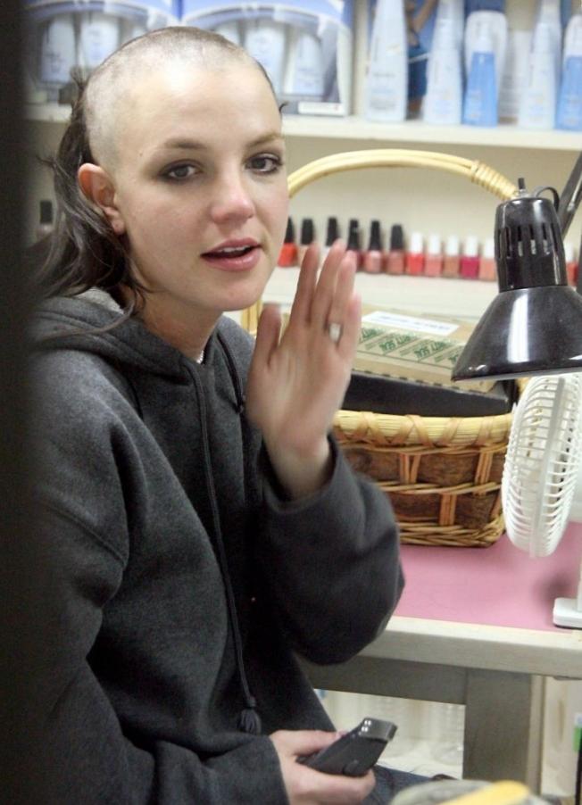 7. Волосы Бритни Спирс.