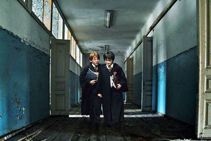 4. Гарри Поттер.