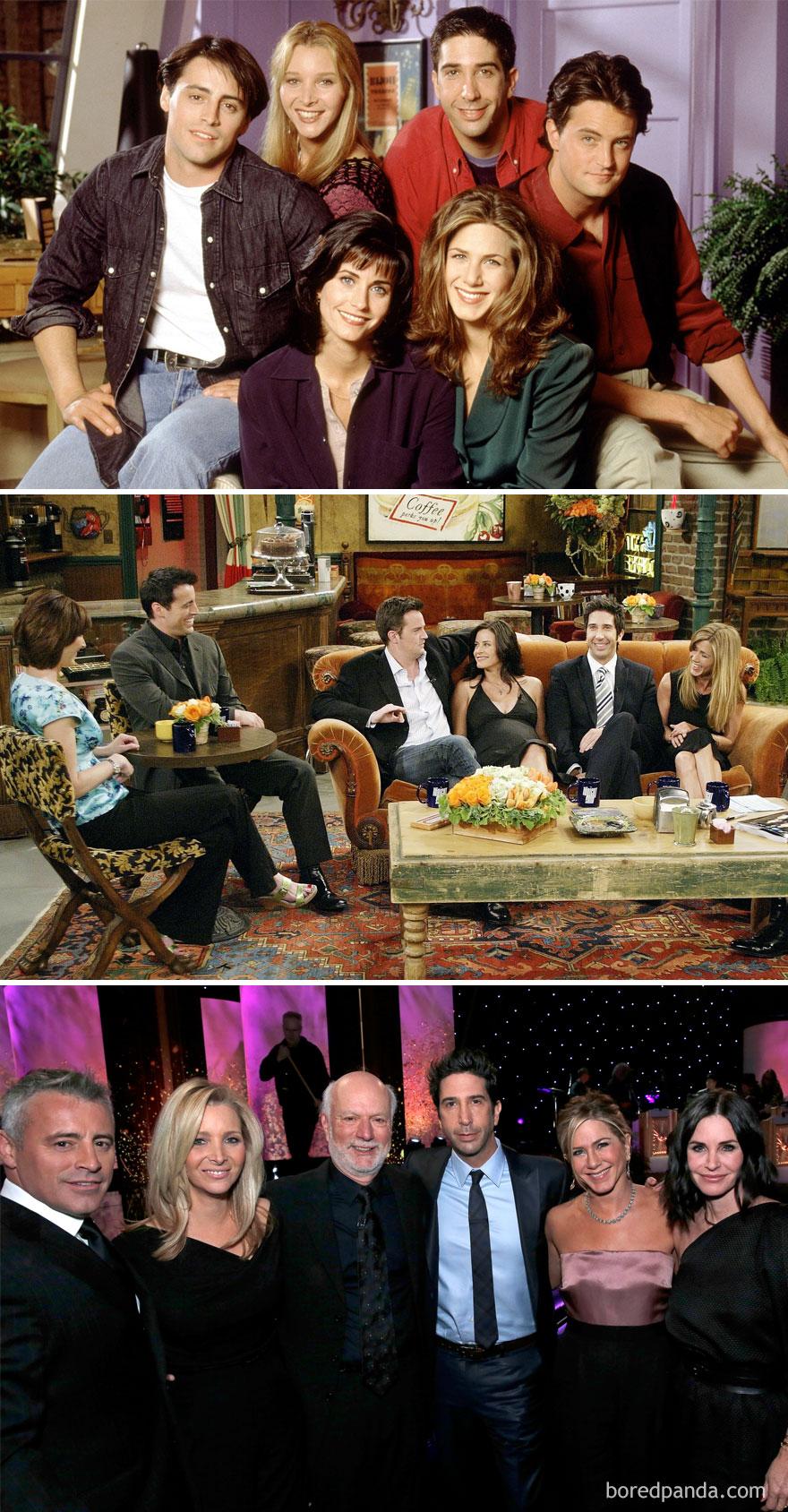 4. Друзья: 1994, 2004 и 2016.