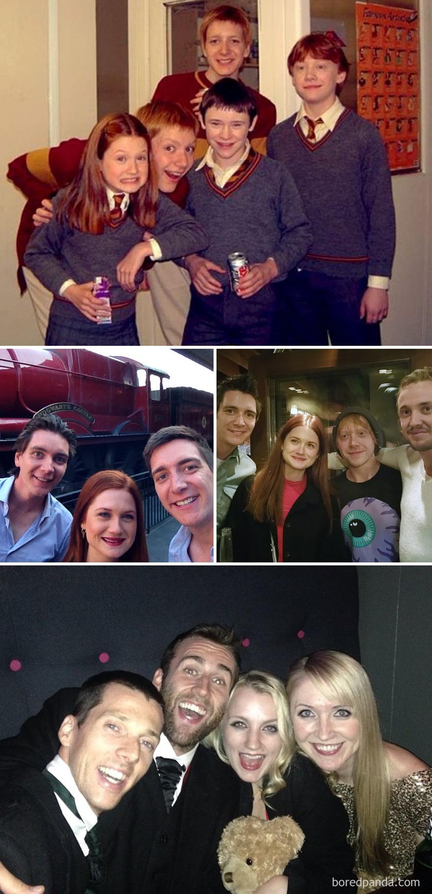 8. Гарри Поттер: 2002, 2014 и 2015.