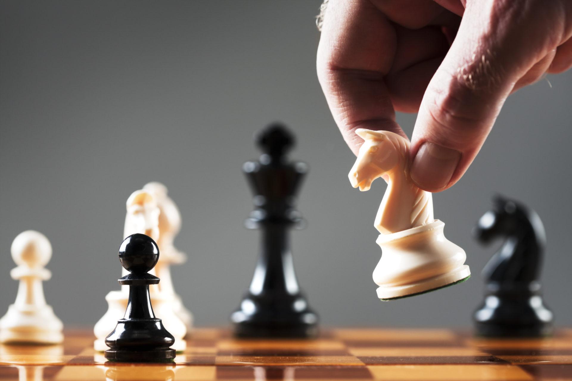 картинки ход конем шахматы вид