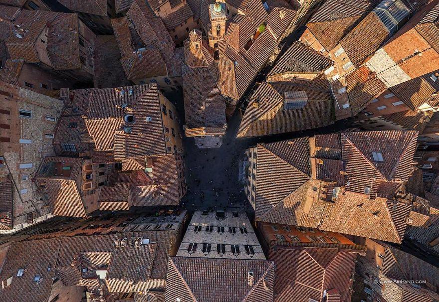 4. Сиена, Италия.