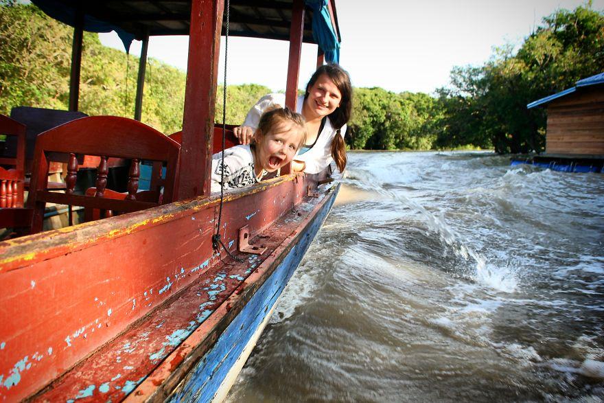 9. Озеро Тонлесап, Камбоджа.