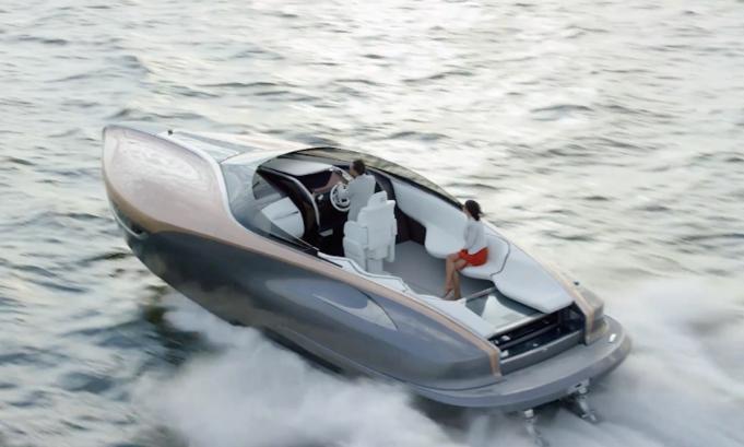 Роскошная яхта от Lexus