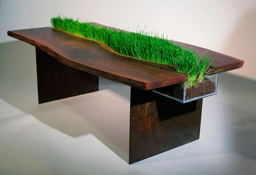 Необычный стол своими руками фото