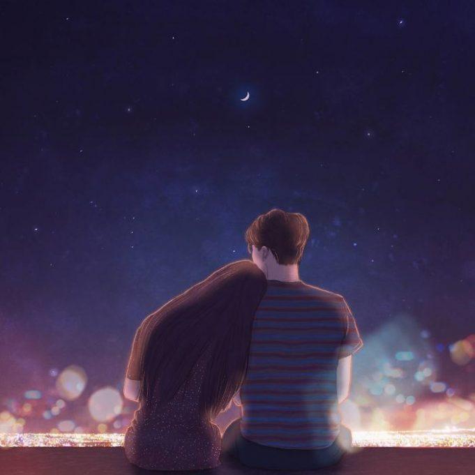 романтические рисунки