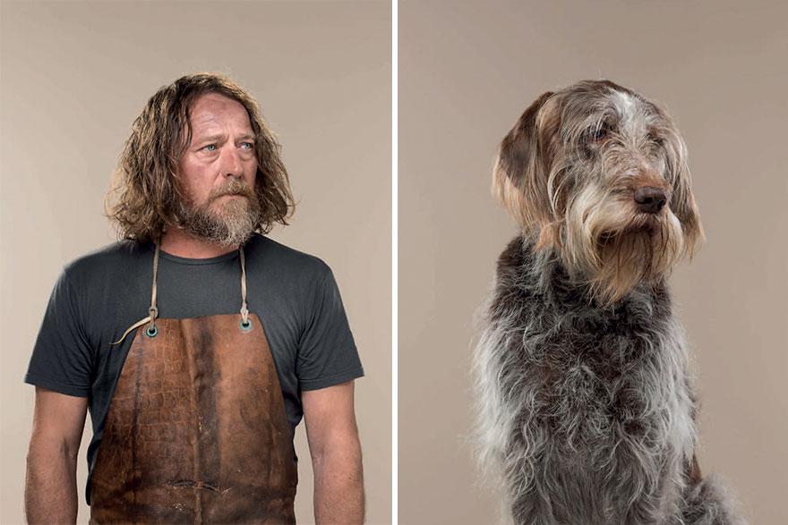 Собаки похожи на хозяев картинки