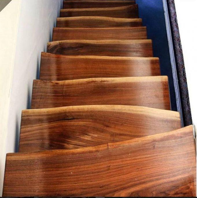 Дизайн лестниц, который может привести к серьезным травмам