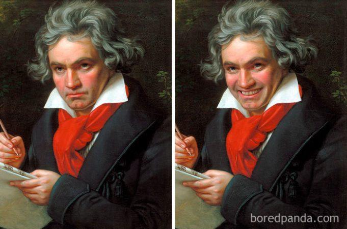 10 знаменитых портретов с улыбкой