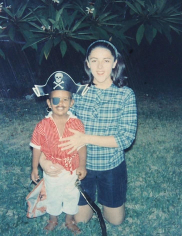 2. Энн Данхэм - мать Барака Обамы.
