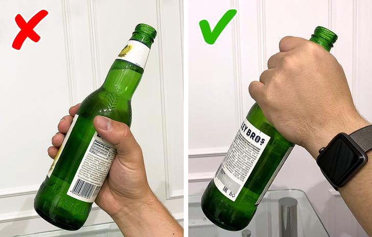 2. Почему у бутылки длинная горловина?
