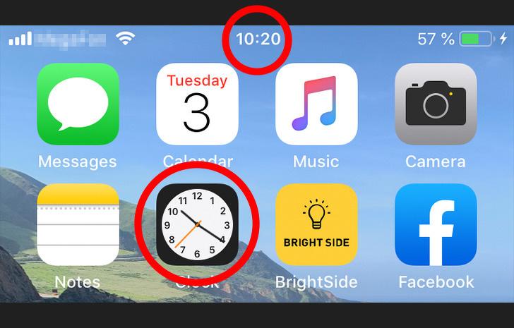 6. Как вы используете значок часов на iPhone?