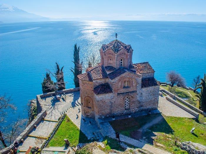 3. Охрид, Македония.