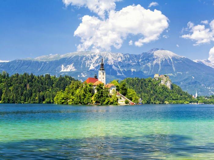 6. Блед, Словения.