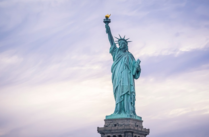7. Статуя Свободы.