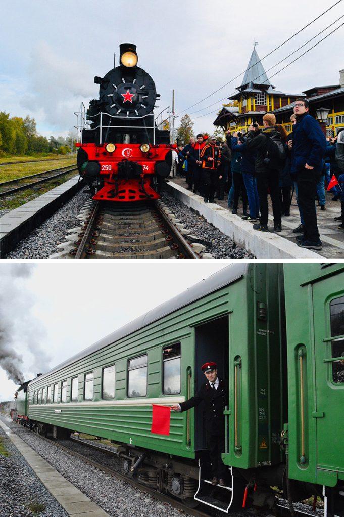 Ретро-поезда, которые могут доставить вас назад во времени