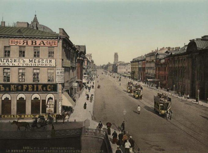 Ранние цветные фотографии Российской Империи
