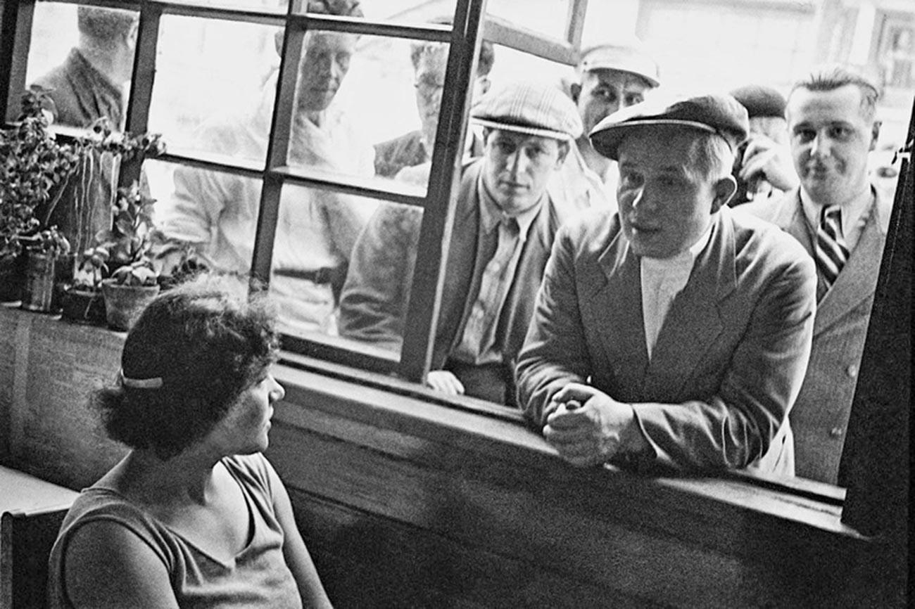 Никита Хрущев — первый секретарь МГК КПСС, 1935 г.