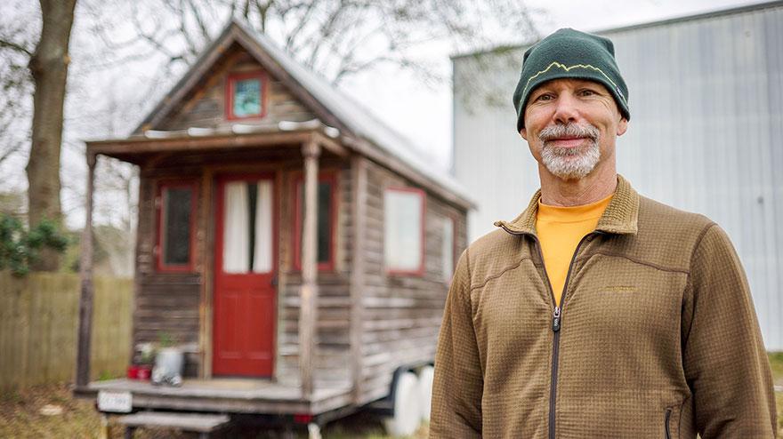 6. Еще один крошечный дом в штате Луизиана.